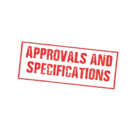 Approvals and Specifications