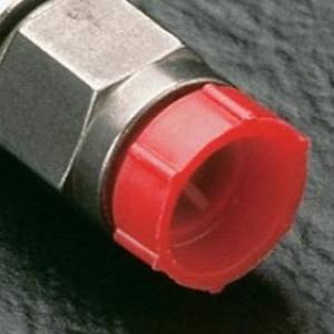 Plastic Threaded Plugs for Flareless Tube and Nut Assemblies