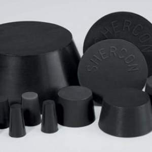 Black Neoprene Plugs