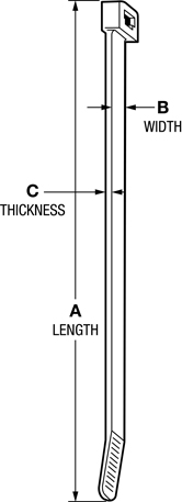 Line Diagram - Cable Ties