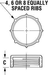 Line Diagram - UN / UNS Caps