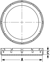 Line Diagram - Outside Fitting Protectors