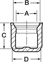 Line Diagram - High-Temperature Caps - Flex500™