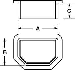 Line Diagram - Plugs for Female Connectors