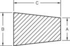 Line Diagram - Regular Cork Plugs