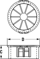Line Diagram - Universal Bushings