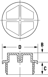 Line Diagram - Unified Sealing Plugs