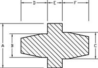 Line Diagram - Silicone Washer Plugs
