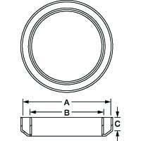 Line Diagram - Weld Neck Covers
