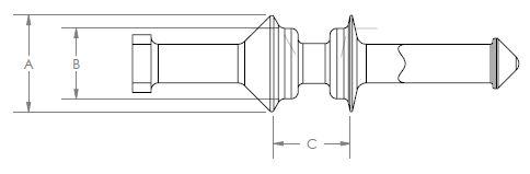 Line Diagram - Weld Nut Pull Plug