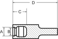 Line Diagram - Ultrabake™ Zerk Caps